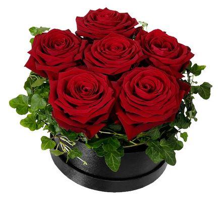 Röda rosboxen - liten